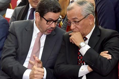 مصطفى فارس و محمد عبد النبوي يلقيان كلمة بالمؤتمر الدولي بمراكش