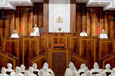 في خطابه بمناسبة افتتاح السنة التشريعية , الملك يأمر برفع دعم الأحزاب ويساوي المغاربة في الخدمة العسكرية