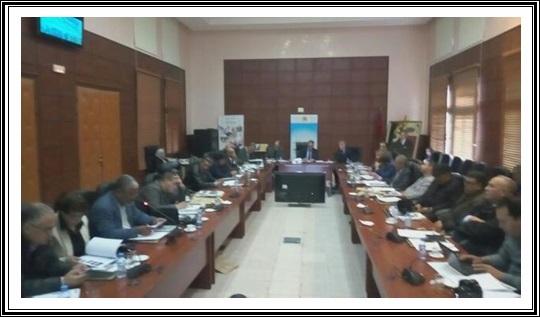 رئاسة جامعة شعيب الدكالي في لقاء اعلامي تواصلي مع الصحافة المحلية و الوطنية