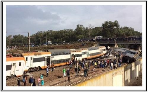 فاجعة…من المسؤول عن اصطدام قطار بين القنيطرة و سلا ببوقنادل؟