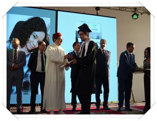 وزيران و عامل الجديدة رفقة رئيس جامعة شعيب الدكالي يترأسون تخرج الفوج السادس لمهندسي الدولة 2018